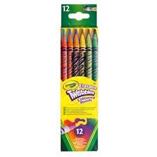 Fargeblyanter, Utviskbar skrublyant, Crayola, 12-pack