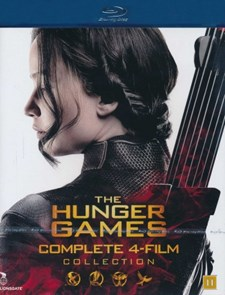 Hunger Games - Complete 4-Film Collection (Blu-ray)