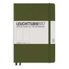 LT NOTEBOOK A5 Hard army 249 s. plain