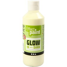 Glow in the dark, 250 ml, grønn/gul
