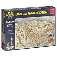 Jan van Haasteren, New Years Dip, Pussel 2000 bitar