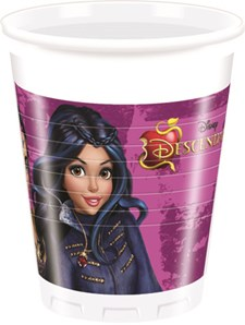Disney Descendants, Plastkopper, 8 stk.