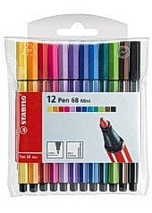 Fineliner STABILO Pen 68 mini (12)