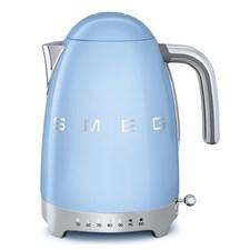 Smeg Vattenkokare 1.7 L Reglerbar temperatur Blå