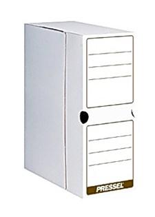 Arkivboks A4 toppåpning 100 mm hvit (20)