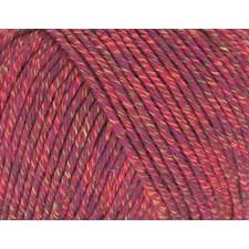 Rico, Fashion Pixel DK, Garn, Bomullsmiks, 50 g, Berry 003