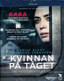 Kvinnan på tåget (Blu-ray)