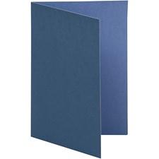 Korttipohja, tummansininen/vaaleansininen, koko 10,5x15 cm,  250 g, 10kpl