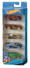 Hot Wheels 5-pack Autot