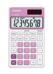 Miniräknare CASIO SL-300NC Rosa