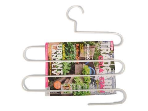 Form Living Galge för tidningar Metall 42x41.5x0.5cm Vit