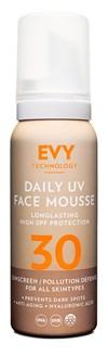EVY Daily UV Face Mousse, SPF 30, 75ml