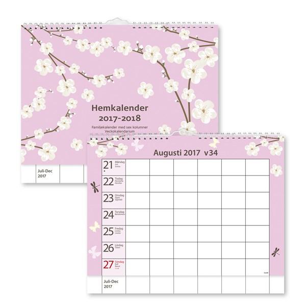 Väggkalender 2017-2018 Burde Hemkalendern FSC Mix
