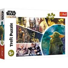 Star Wars Baby Yoda Pussel 100 bitar Trefl