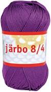 Järbo 8/4 50g Bomullsgarn Signalviolett (32080)