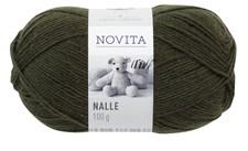 Novita Nalle Garn 100 g mørk grønn 389