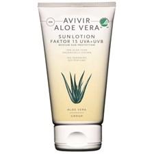 Avivir Aloe Vera Sun Lotion SpF 15 150ml