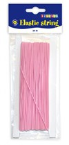 Elastisk tråd rosa 1 mm Playbox