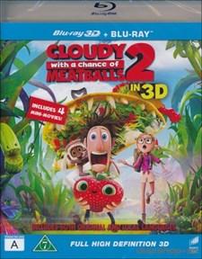 Det regnar köttbullar 2 - Den stora Matkampen (Blu-ray 3D+Blu-ray)