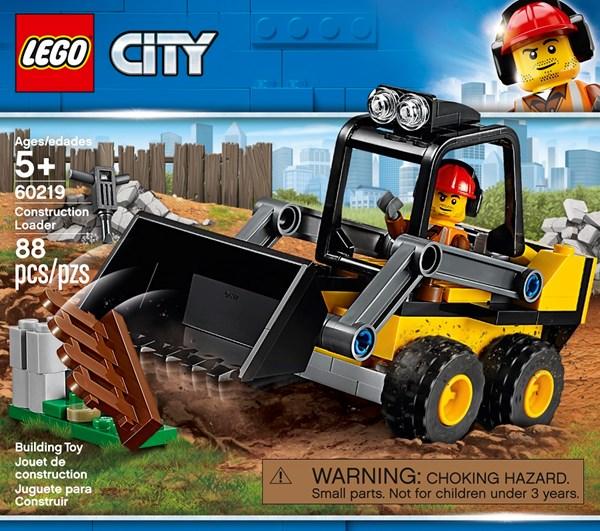 Hjullastare-LEGO City Great Vehicles