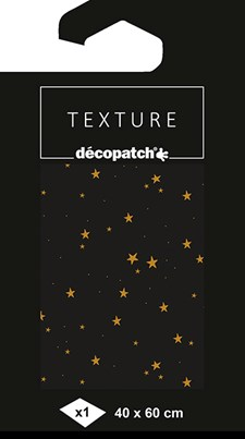 Decoupagepapper, 1 ark 40 x 60cm, Starry night
