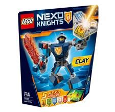 Taistelupukuinen Clay, Lego Nexo Knights (70362)