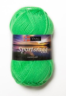 Viking of Norway Sportsragg 50 gr neonvihreä