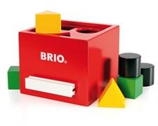Palikkalaatikko, punainen, Brio