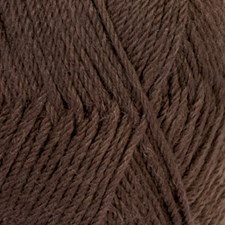 Drops Lima Uni Colour Lanka Villasekoitus 50g Brown 5610