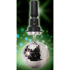 Discokula LED med motor och ljus