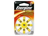 Batteri ENERGIZER høreapparat 10 gul 8/fp