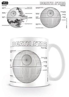 Star Wars Mugg Dödsstjärnan Ritning