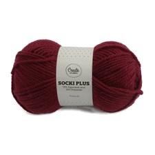 Adlibris Socki Plus Enfärgat Garn 100g Burgundy A138