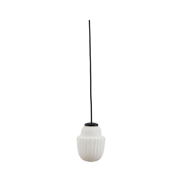 House Doctor Acorn Lampa H 18.7 Glas Metall (hvit) - taklampor