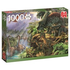 Dinosaur Valley, Pussel 1000 bitar, Jumbo