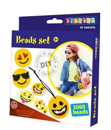Pärlset, Emoji, 2000 pärlor, Playbox