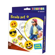 Perlesett, Emoji, 2000 perler, Playbox