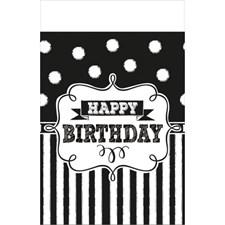 Happy Birthday Pöytäliina 137x259 cm