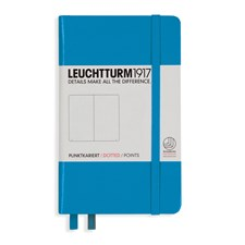 LT NOTEBOOK A6 Hard azure 185 p. dotted