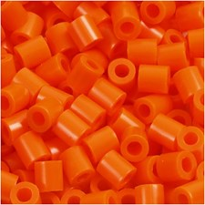 Rörpärlor 5x5 mm 1100 st Orange Klar (13)