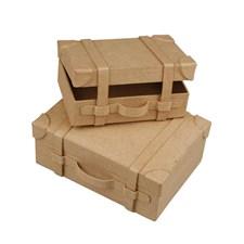 Väska av Papier-Maché 2 Storlekar