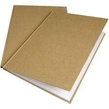Muistikirja, A4 21x30 cm, ruskea, 1kpl