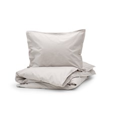 Bondeco Collection Pussilakanasetti 2 osaa 150x200+50x60 Light grey