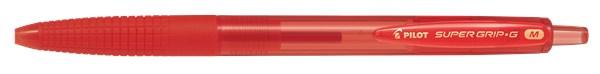 Kulepenn, SUPER GRIP G Klikkemekanisme, Medium, rødt