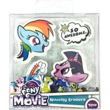 Suddgummi 4 st, My Little Pony