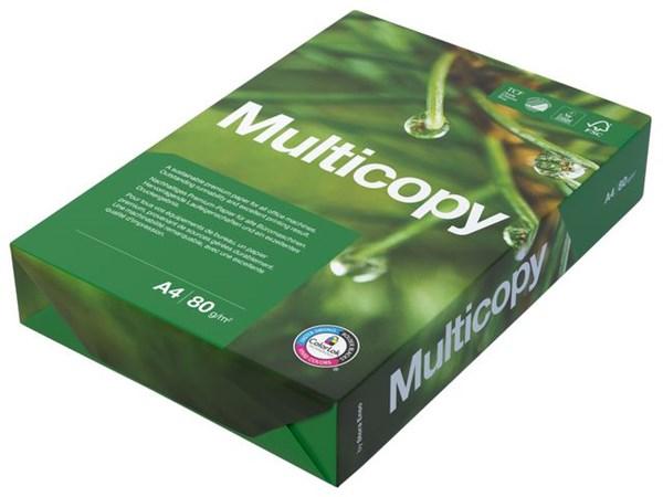 Kopipapir MULTICOPY A4 80g uhullet (500)