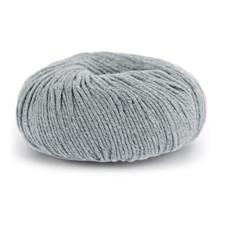 Knit At Home Classic Cotton Merino Ullmix 50 g Grå/Lys Grå Mix 804