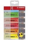 Överstrykningspenna Stabilo Boss Multi 6-pack