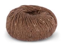 Du store Alpakka Tweed Garn Ullmix 50 g Terracotta 109