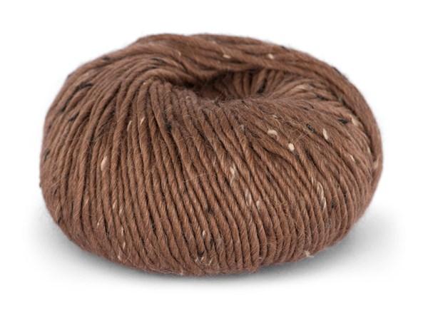 Du store Alpacka Tweed Garn Alpacka Ullmix 50 g Terrakotta 109